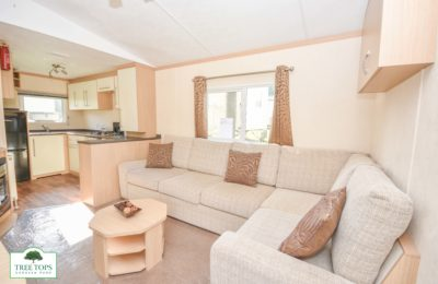 Carnaby Melrose CL at Tree Tops Caravan Park in North Walea
