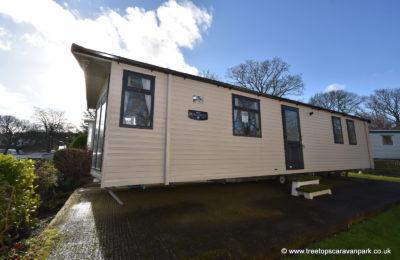 Swift Burgundy Caravan for Sale in North Wales